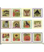 Stitch An Inch Halloween 2 cross stitch chart By The Bay Needleart  - $10.80