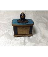 Box Rectangular Handmade Polymer Clay Art Asian Theme Table Art Mixed Me... - $45.00