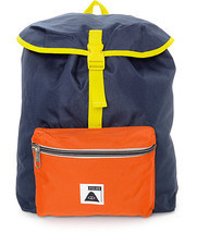MEN'S GUYS Poler Field Navy, Orange & Yellow 14L Backpack SCHOOL BAG NEW... - $39.99