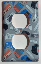 video games controller Light Switch Outlet wall Cover Plate Home Decor image 2