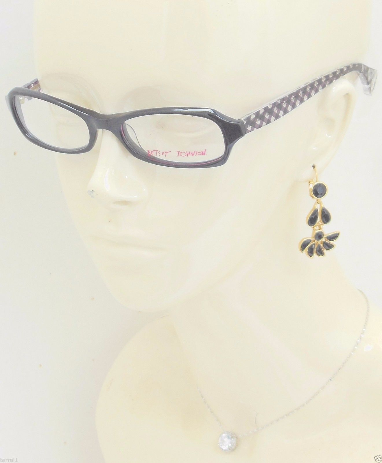 6014f06a42792 NEW Betsey Johnson Gingham Girl Eyeglass and 16 similar items