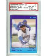 1989 star rookie ken griffey jr seattle mariners psa 10 graded rare limited - $149.99