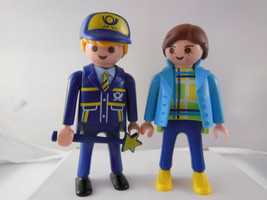 PLAYMOBIL Figures Female and male lady man - $6.92