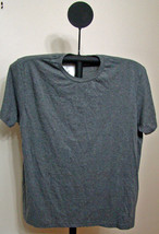 Alfani Gray Short Sleeve Crew Neck T-Shirt - Size Large - $5.95