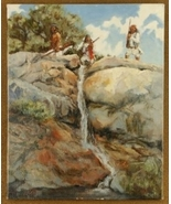 The Guardians Southwest Indian Limited Edition Giclée Print by Gretchen ... - $150.07