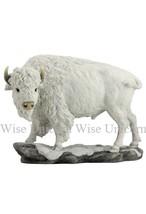 White Bison Sculpture figure statue wildlife bu... - $75.00