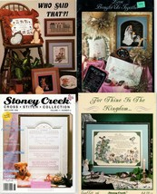 For Thine Is the Kingdom, Love Brought Us Together, Child Sampler, Stoney Creek  - $8.75