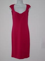 NWT ELIE TAHARI Karma Pink Deborah Jersey Dress 46/10 - $82.44
