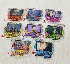My Hero Academia Boku no Hero Akademia Acrylic Keychain Key Ring Strap - $4.84+