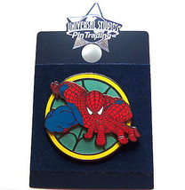 Disney Universal Studios Spiderman Trading Pin Theme Parks New Carded - $16.95
