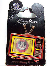 Disney Mickey Mouse Club TV Set Trading Pin Theme Parks New Carded - $16.95