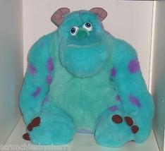 "Disney Store Sulley Monster Plush Toy Stuffed Animal Blue 16"" Pixar - $69.95"
