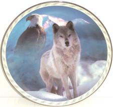 Wolf Eagle Collector Plate Bradford Exchange United Spirit Masters Land ... - $59.95