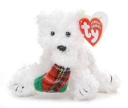 TY Stocking Dog Ornament Presents - $12.50