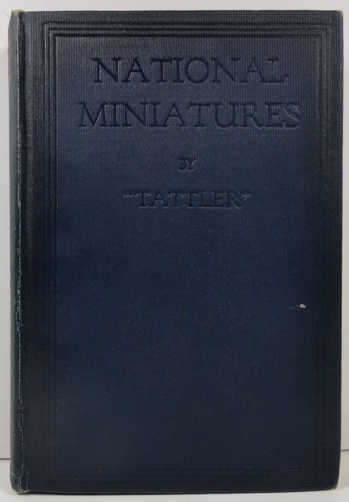 National Miniatures by Tattler 1918 Alfred A. Knopf