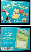Dr. Seuss Cat In The Hat Calendar 1997 New - $16.99