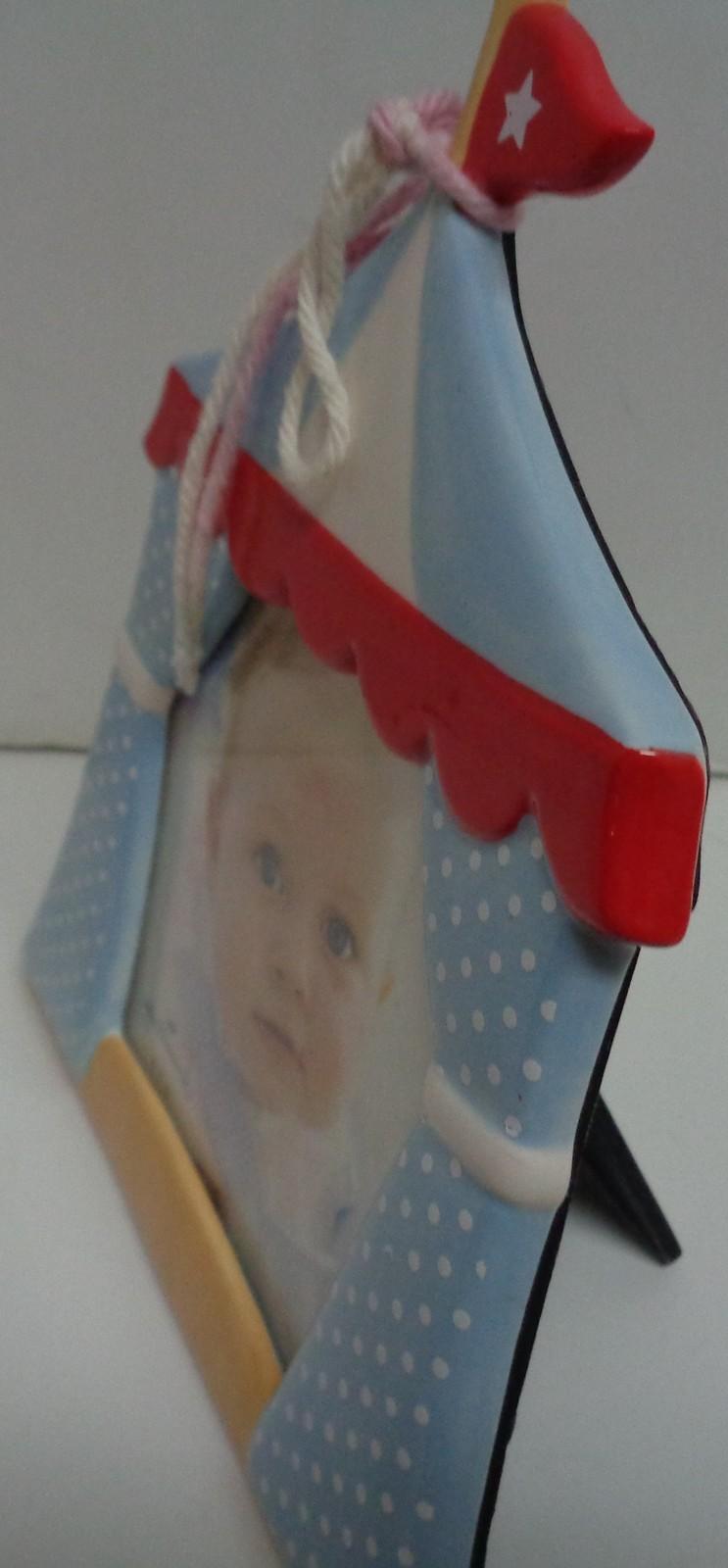 Hallmark Baby Boy Carnival Photo Frame 4 x 4 Photo