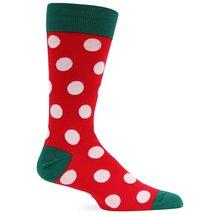 Hot Sox Men's Holiday Dot Sock - $6.82