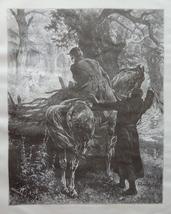 Horse art print thumb200