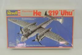 "Revell Heinkel He-219 ""Uhu"" Plastic Model Kit Plane Aircraft 1:72 Scale ... - $19.24"