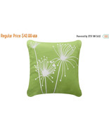 ON SALE Papyrus Wabisabi Green Throw Pillow Cover, Apple Green, 18 x 18 ... - $24.95