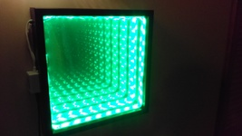 Infinity Mirror Color changing LEDs with 44 key... - $55.00