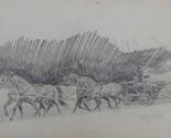 Horses drawing art thumb155 crop