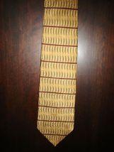 Bill Blass Tan Silk Tie - $40.00