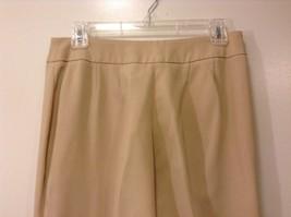 Ladies Jones New York Light Tan Beige Pants Sz 6 image 5