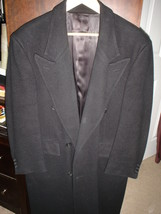 ****Christian Dior Black Double Breasted Wool Overcoat - $199.99