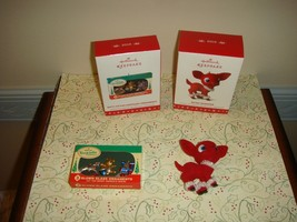 Hallmark 2016 Nifty Fifties Keepsake & Retro Reindeer Ornaments - $24.99
