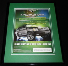 2004 Salem Cigarettes / Cadillac Escalade Framed 11x14 ORIGINAL Advertis... - $32.36