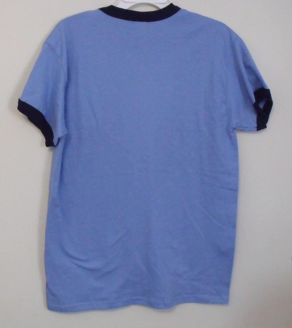 Mens Gildan Nwot Blue Navy Blue Short Sleeve T Shirt Size