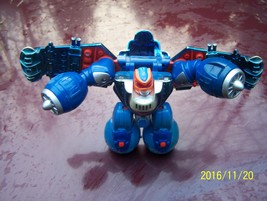 2002 Hasbro Playskool Transformer blue plane Ta... - $2.50