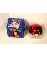 Pokemon Jigglypuff  Limited Edition Ball with 23K Gold Plated Trading Ca... - $23.36