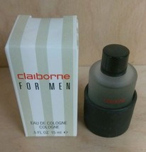 Clairborne by Liz Clairborne Mini For Men .5oz/15mL Cologne Dab-On NIB - $7.22