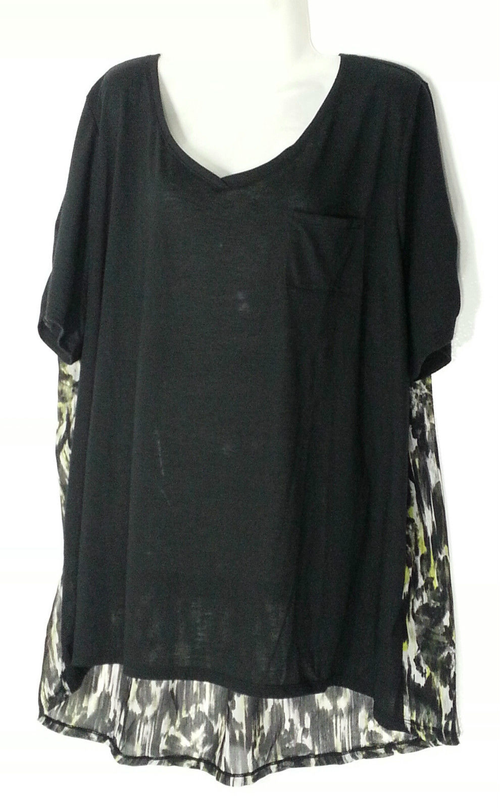 97384b13ea7 Catherines Pullover V-NECK Top Blouse 2X 22 and 26 similar items. S l1600
