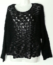 LF MILLAU PULLOVER SWEATER TOP SMALL S BLACK  NWT NEW - $27.85