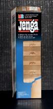 Vintage 1986 Jenga - Milton Bradley MB - Game blocks 54 pieces Complete ... - $19.99