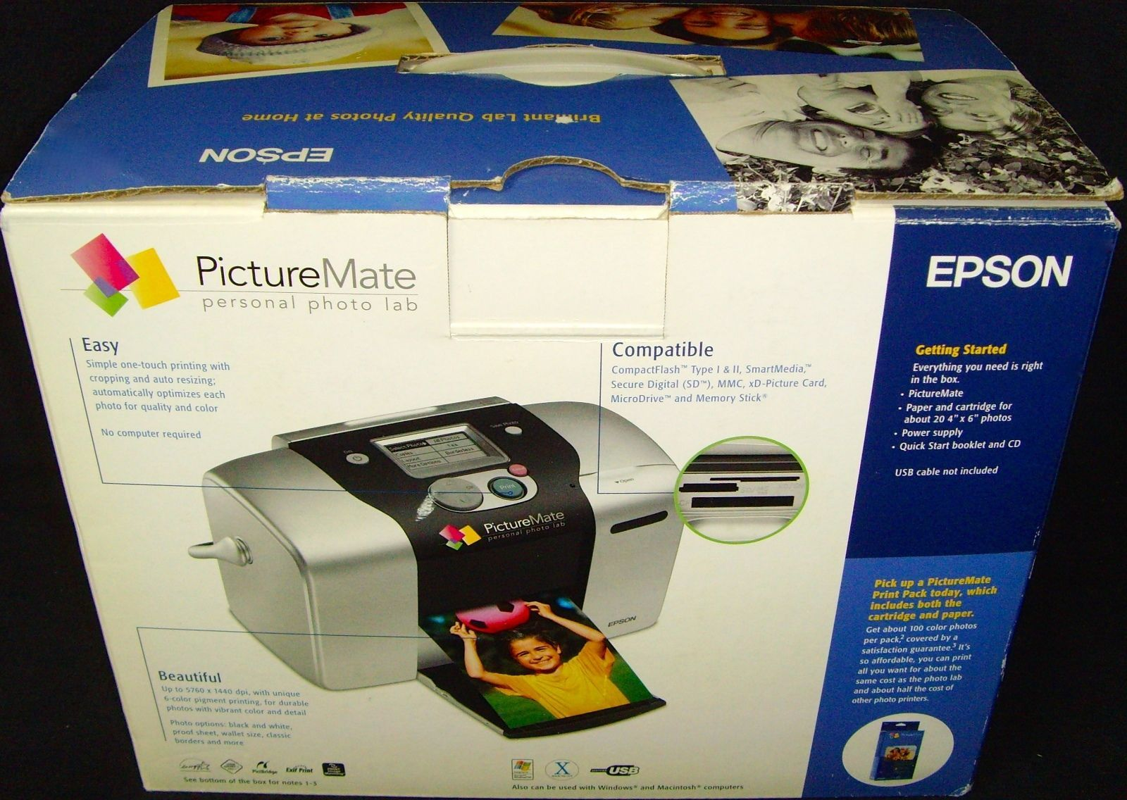 New In Boxepsonpicturematepersonal Photo And 50 Similar Items