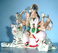 Lenox DURGA Goddess of Strength Hindu Battle Qu... - $129.80
