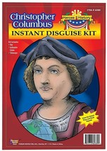 Medevial Costume Kit Christopher Columbus Instant Disguise Kit History  - $8.90