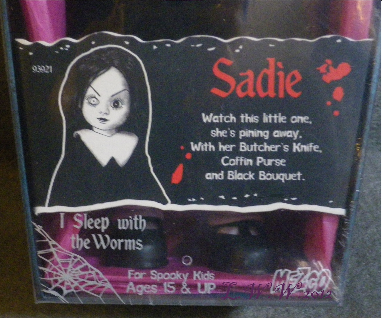 Living Dead Dolls Thirteenth Anniversary Series Sadie 13th Gothic Horror Mezco