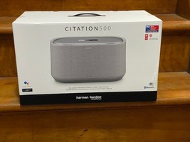 Harman Kardon Citation 500 Wireless Smart Speaker w/ Google Assistant Gray - New