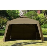 "117"" x 117"" Gazebo Replacement Panel Side Wall Dual Tier Outdoor Garden ... - $27.99"