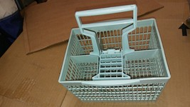"6VV02 Dishwasher Utensil Basket, From Ge: 8-3/4"" X 7-1/2"" X 9-3/4"", Good Cond - $19.66"
