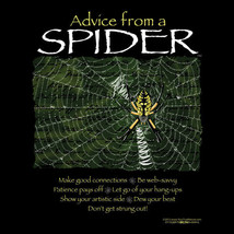Gildan T-shirt Spider Nature S M L XL XXL Cotton NWT Short Sleeve Black New - $20.20