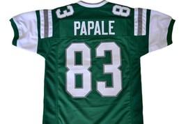 Vince Papale #83 Invincible Movie Men Football Jersey Green Any Size image 1