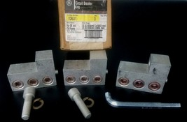 LOT OF 3 GE TCAL81 CIRCUIT BREAKER LUGS 3/0-500KCMIL, CU0AL - $100.00
