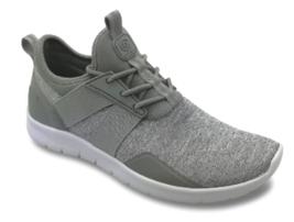 C9 Champion Women's Drive 4 Spacedye Heathered Gray FlexFoam Shoes Sneakers